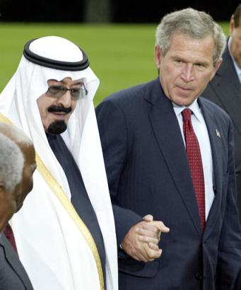 Bush and Saudi friend.