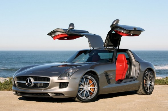 Mercedes sls gullwing for Mercedes benz with wing doors