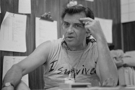 September 1982, Glen Helen Regional Park, California, USA --- Concert Promoter Bill Graham --- Image by © Neal Preston/CORBIS