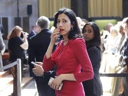 Huma on the run